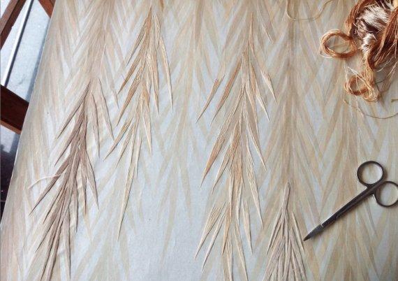 Ručně vyšívané tapety (17)