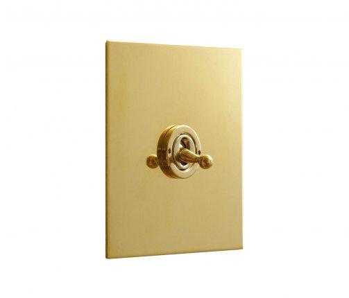 Páčky (dolly) Unlacquered Brass (2)