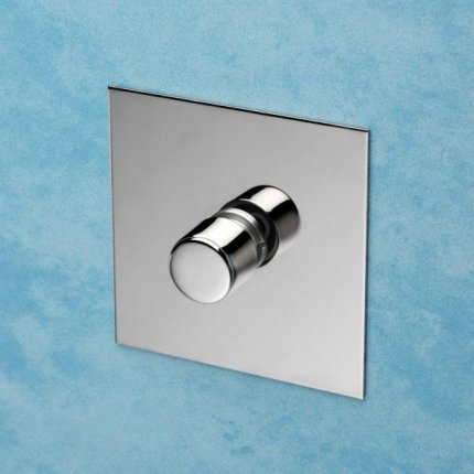 Otočné stmívače (rotary dimmers) Nickel Silver   (2)