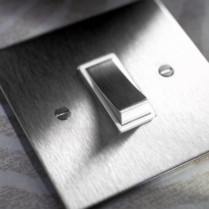 Kolébkové vypínače (rocker) Stainless Steel (3)