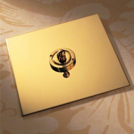 Páčky (dolly) Unlacquered Brass (3)